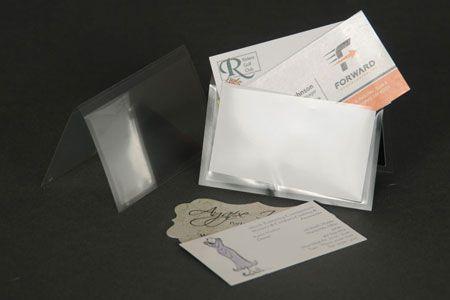 Clear Business Card Sleeve Clear Business Cards Business Card Sleeve Card Sleeve