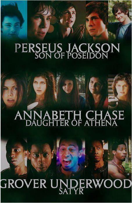 Perseus Jackson Son Of Poseidon Annabeth Chase Daughter
