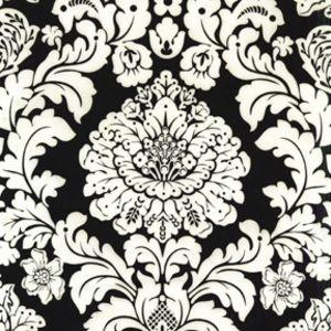 Delovely Damask in Black -- Manufacturer: Michael Miller -- Designer: Michael Miller House Designer -- Collection: Mod Basics -- Print Name: Delovely Damask in Black