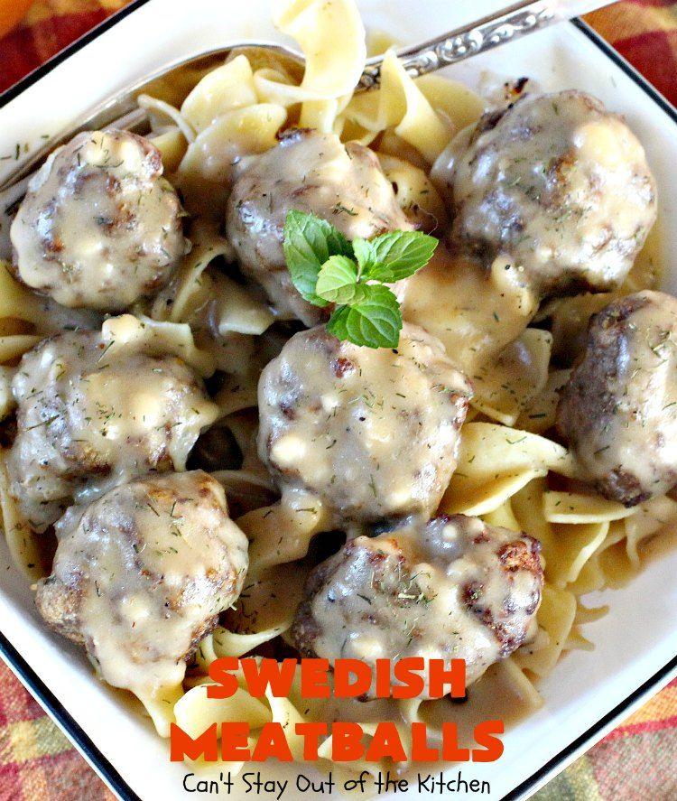 swedish meatballs   recipe   cooking recipes, swedish