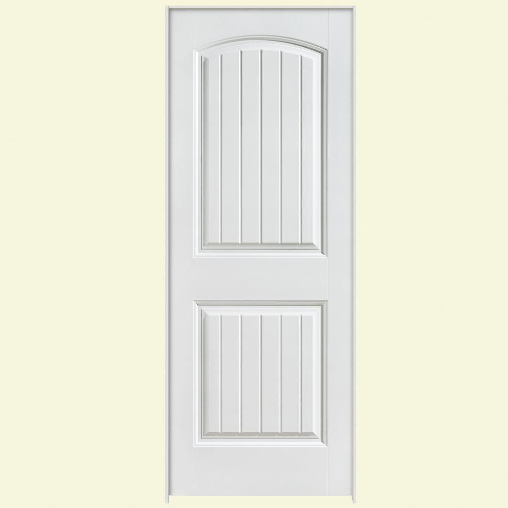 Masonite 36 In X 80 In Solidoor Cheyenne 2 Panel Solid Core Smooth Primed Composite Single Prehung Interior Door 19754 The Home Depot Prehung Interior Doors Doors Interior Prehung Doors