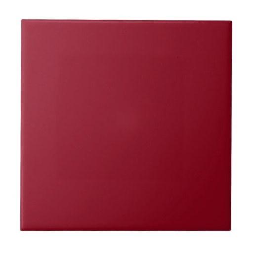 Solid Maroon Red Ceramic Tile Zazzle Com Ceramic Tiles Burgundy Paint Creative Office Decor