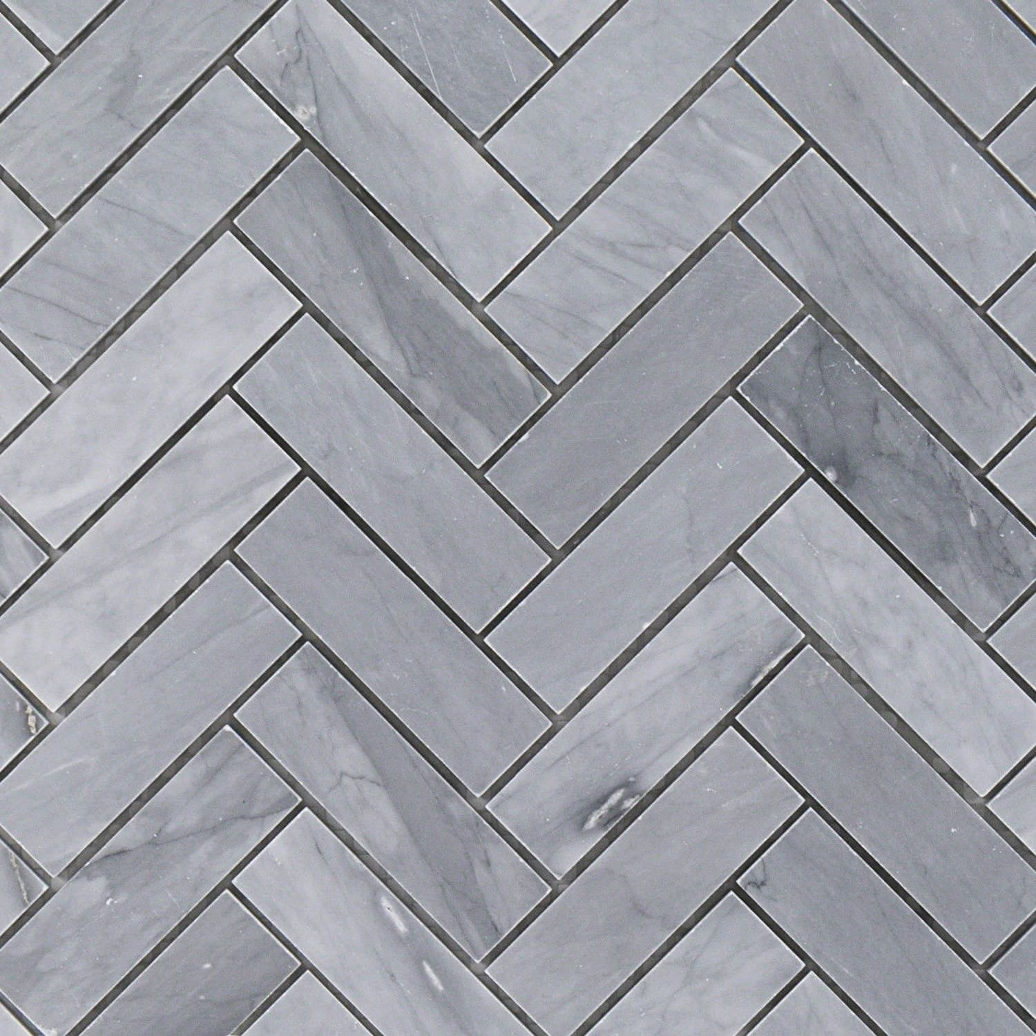 Halley Gray Herringbone Marble 1x3 Tile Herringbone Tile Floors Herringbone Tile Marble Herringbone Tile
