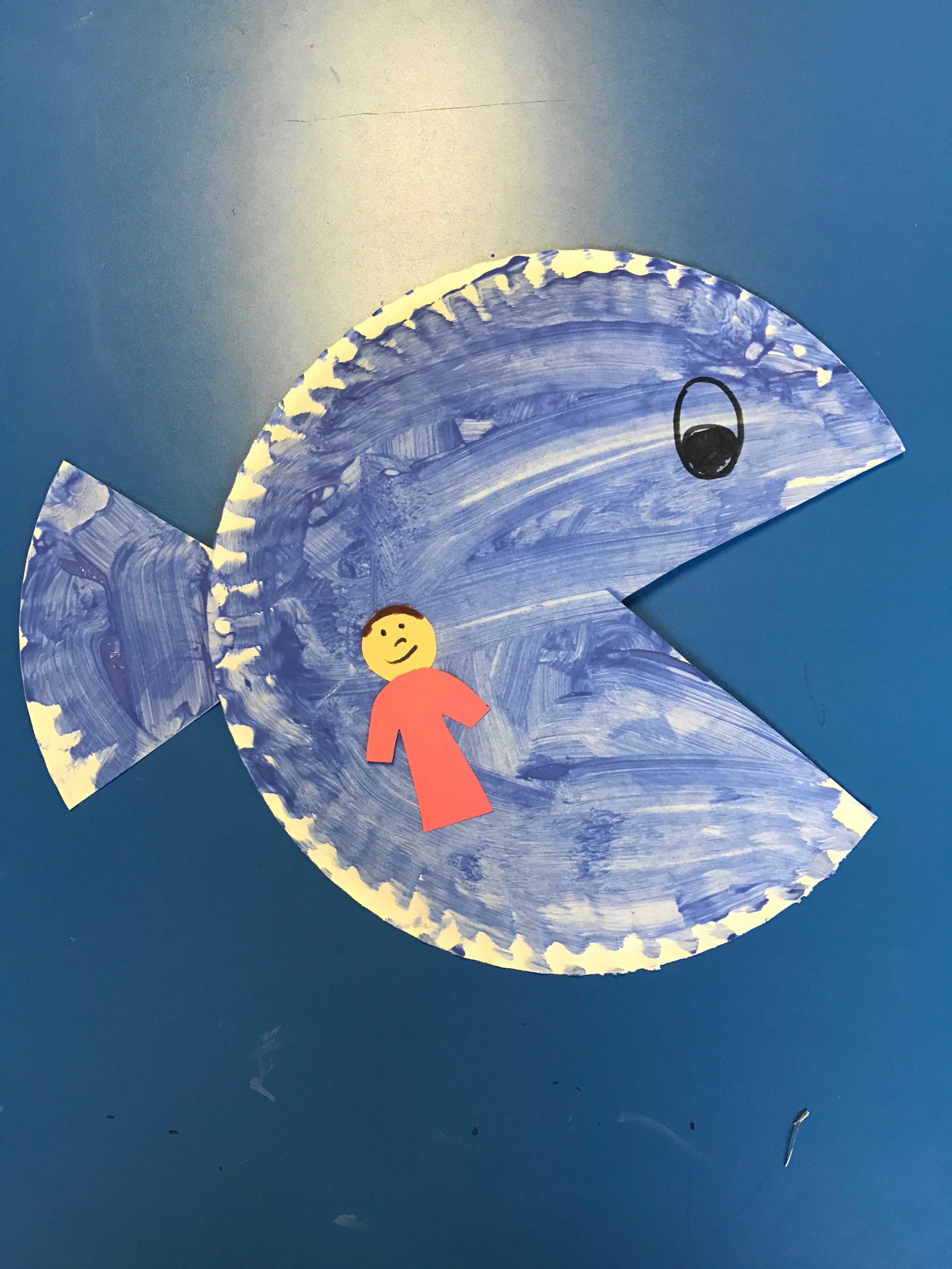 Jonah And The Whale Bible Craft Craft Ideas