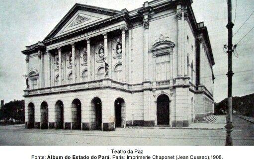 Teatro da Paz. Início do século XX.
