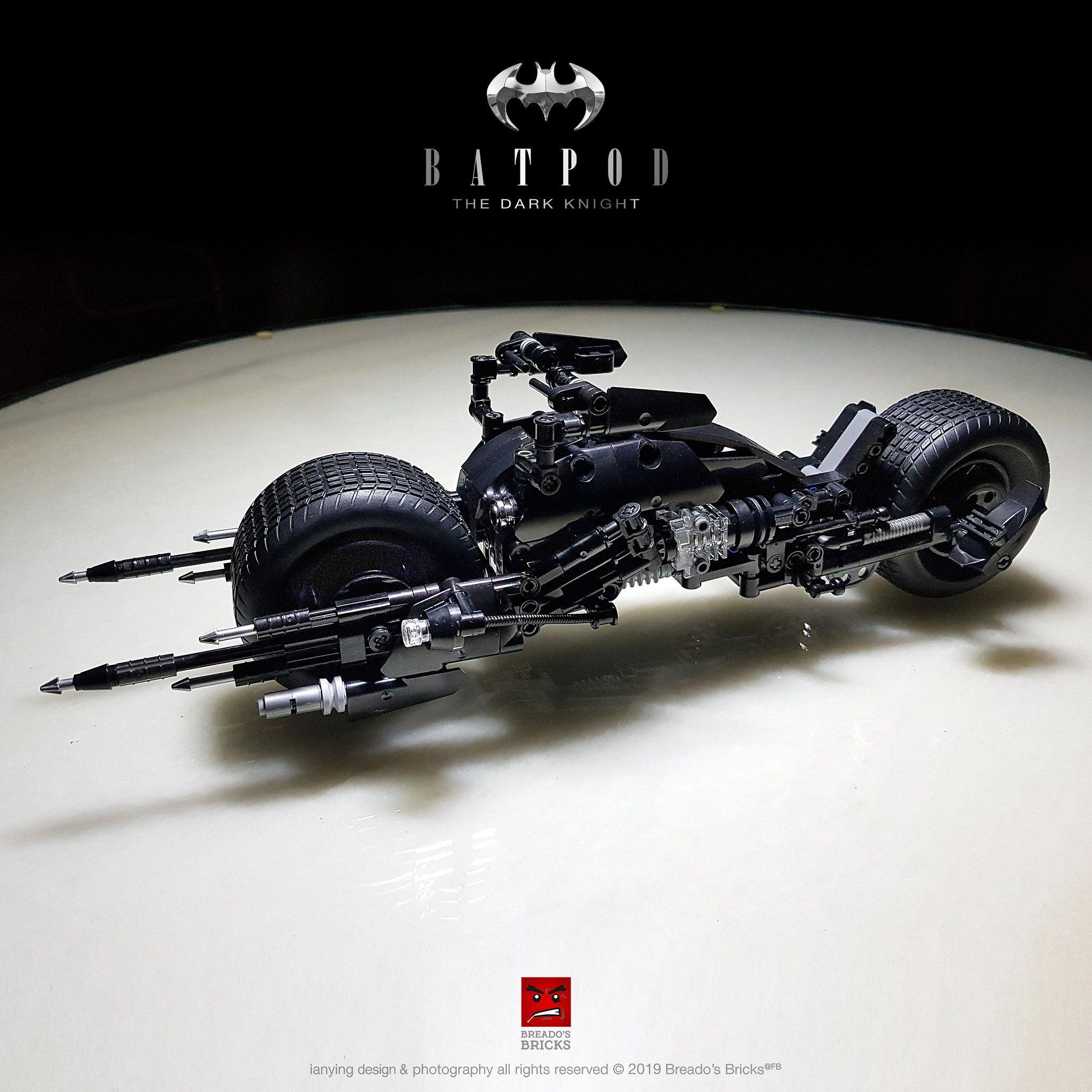 Blackbatpod24 Lego Craft Batmobile Batman Batmobile