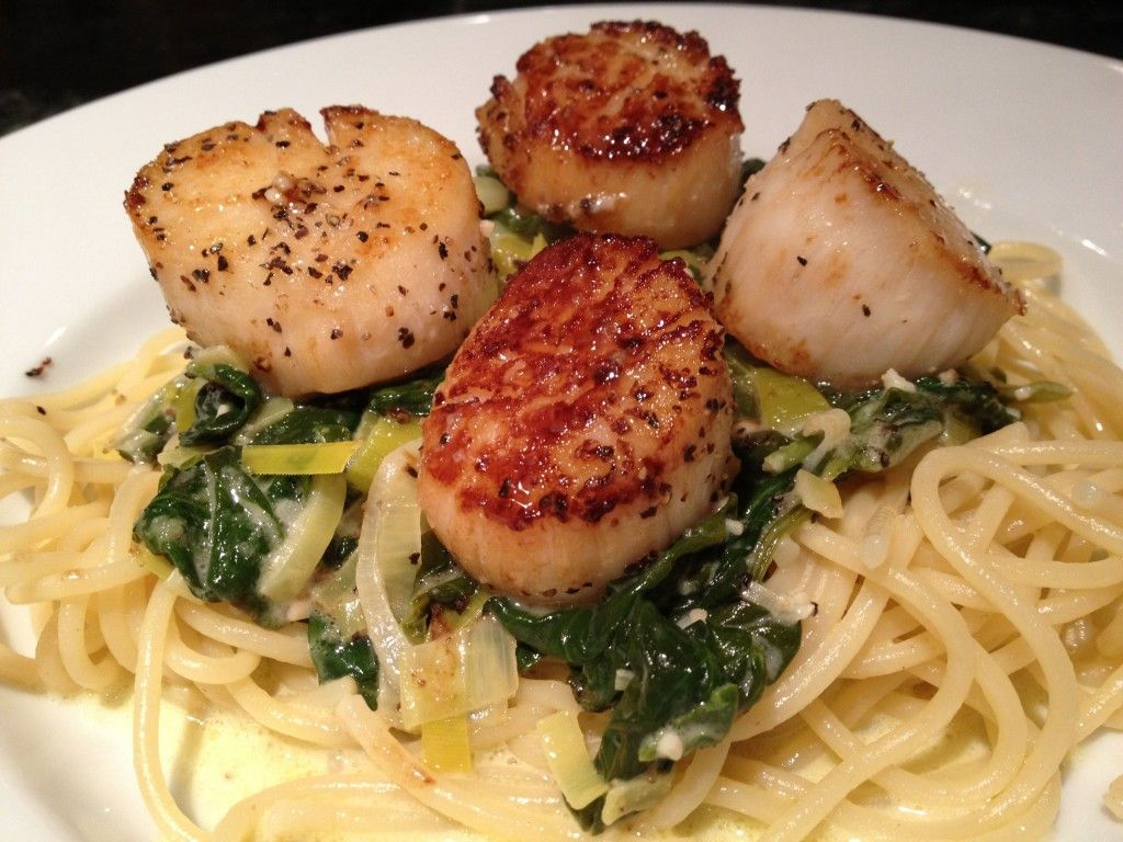 French Bistro Decor Seared Scallops Coquilles St Jacques Is French Bistro Food You