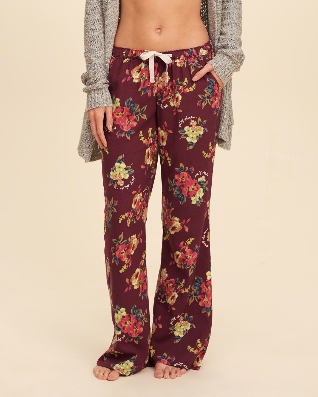 hollister pajama pants