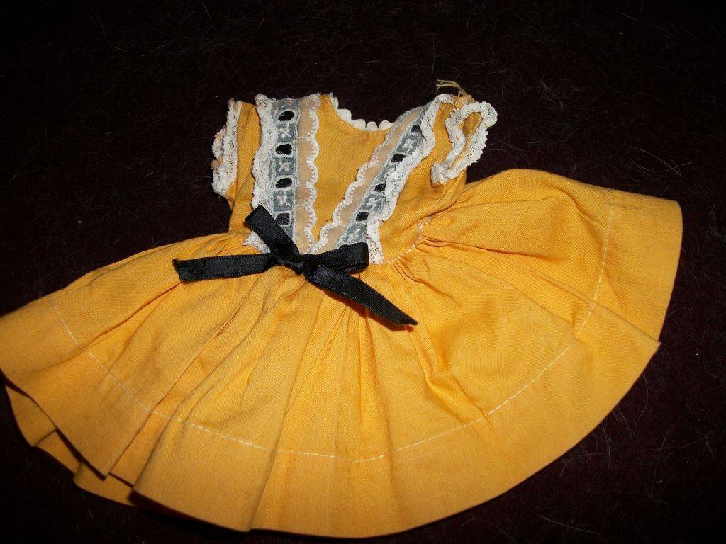 "Vintage Dress for 12"" vinyl Shirley Temple Doll Free P US Buyers"