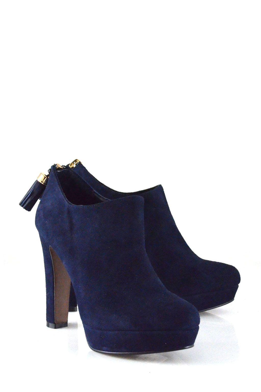 brand new 0fd0e 6a76a Lola Cruz blue ankle boots >> shop online at www.louloushoes ...