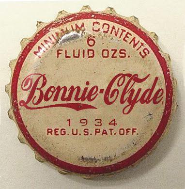 Bonnie-Clyde bottle cap