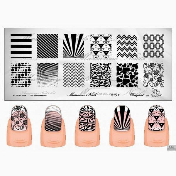 Hot Off The Stamping Press: Marianne Nails Nail Art Stamping Plates ...