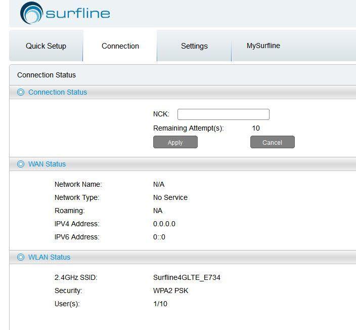 How to Unlock Alcatel Y855v Surfline Ghana Mobile WiFi Router