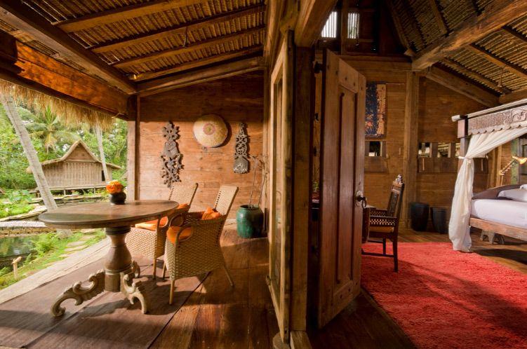 Padi house bambu indah resort ubud bali