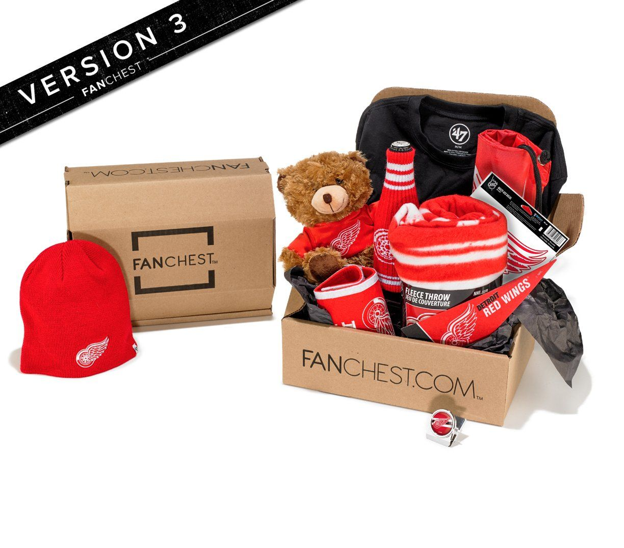 32888f16477 Detroit Red Wings FANCHEST 2 - Mens - S