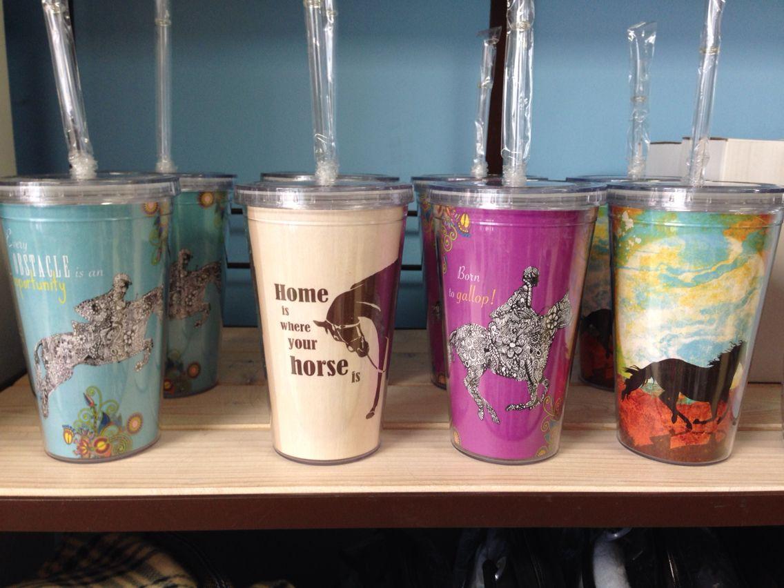 Eco friendly cool cups $19.95 www.ponyupequestrian.com
