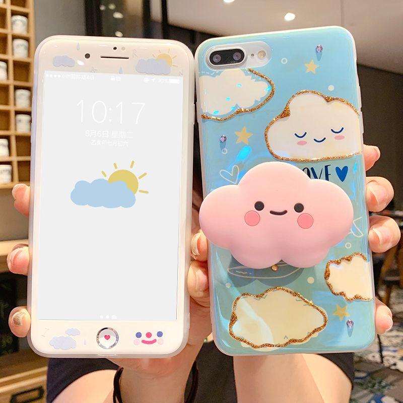 Clouds cute case for iphone 11promax xsxr78plus in