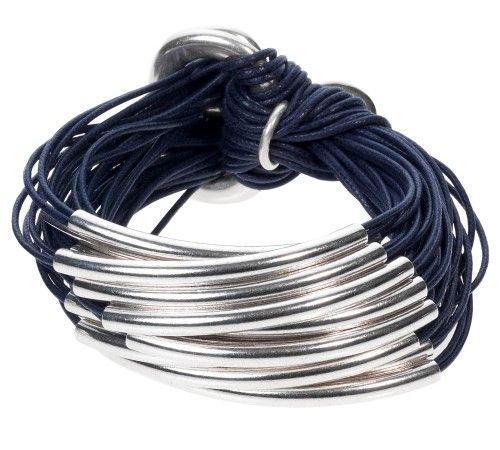 Orit multi tubes bracelet.