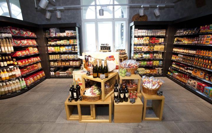 MERKUR High market flagship store, Vienna store design ...