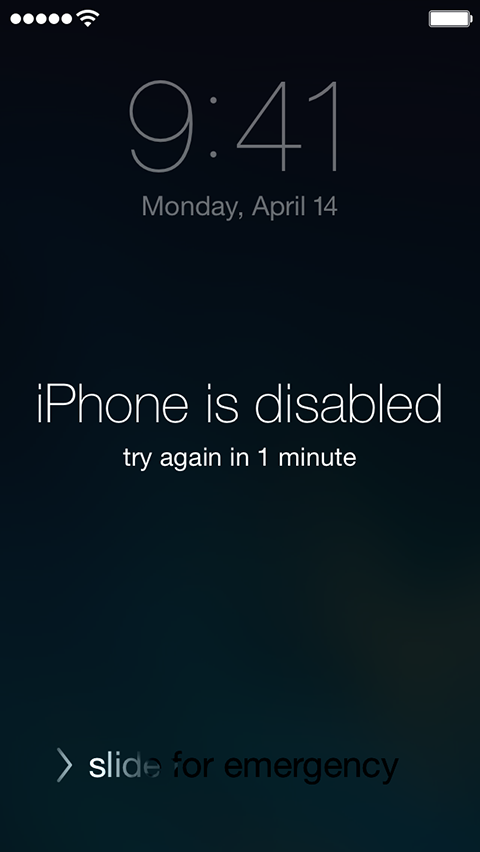 How To Get In Your Iphone When Your Locked Out