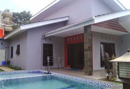 Puncaksewavilla Sewa Villa 0066 Di Puncak Ada Kolam Renang Pemandangan Pegunungan Kolam Renang Villa Kolam