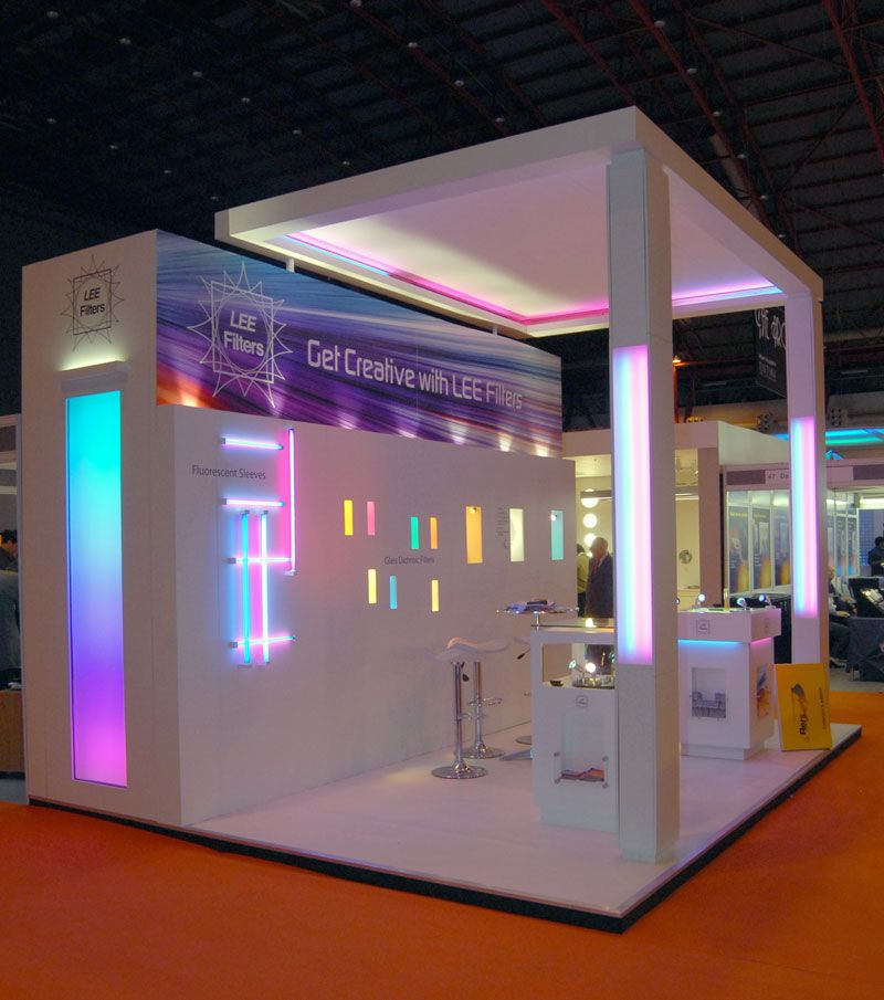 Expo Exhibition Stands Tall : Lee filters arc g booth design