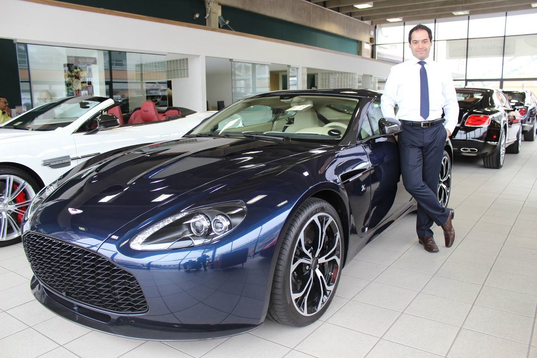 Standing By The Rare Aston Martin Zagato Aston Martin Zagato - Aston martin for sale usa