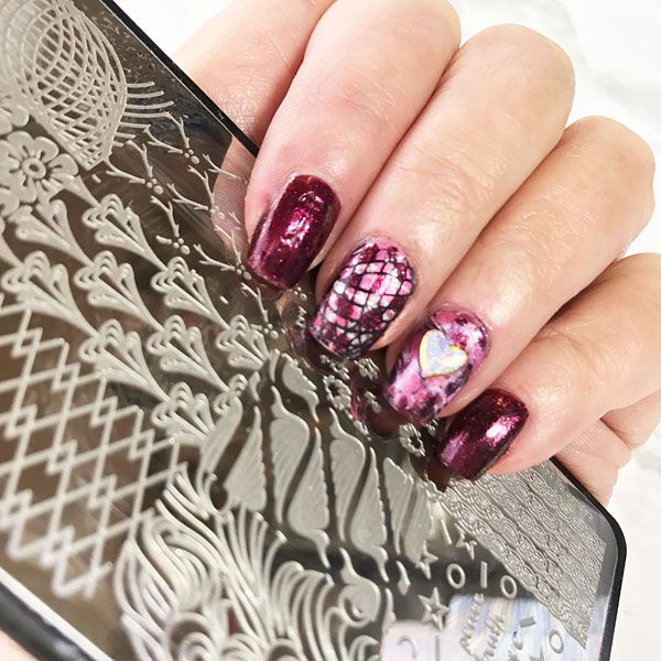 Young Nails Caption Polish stamping plates, nail art, stamping art ...