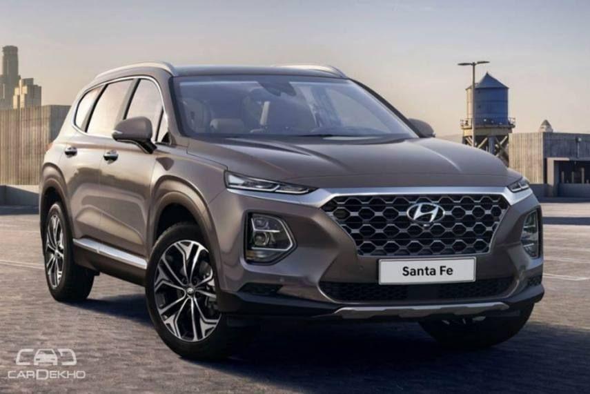 Hyundai Upcoming Suv In India In 2020 New Hyundai Santa Fe Hyundai Santa Fe New Hyundai
