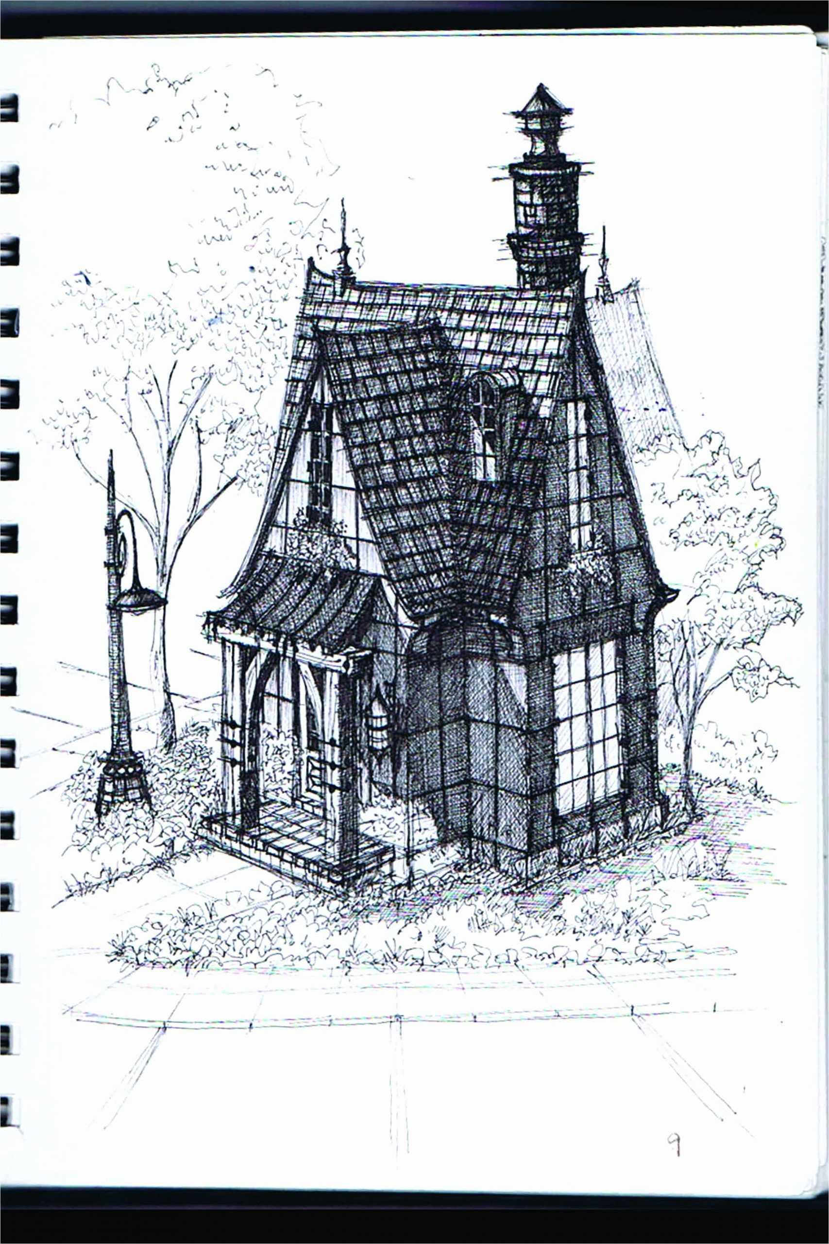 Gothic Victorian House Plans Elegant Victorian House Drawing At Paintingvalley In 2020 Gothic House Victorian House Plans Dream House Drawing