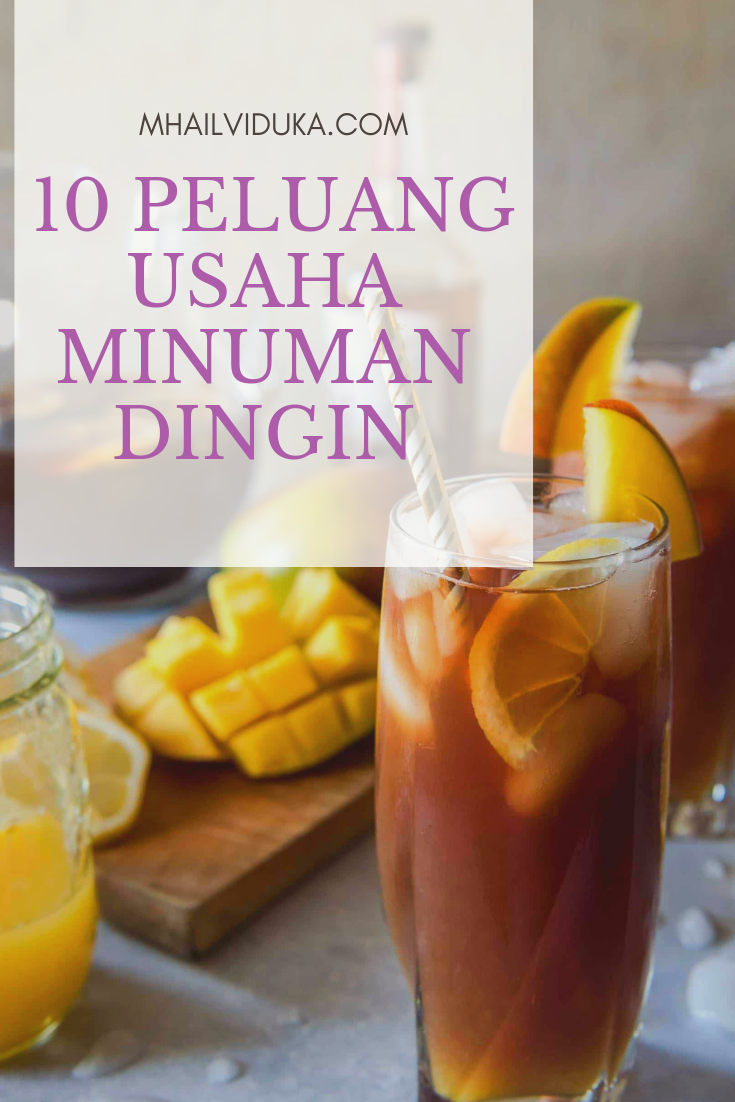 10 Peluang Usaha Minuman Dingin Minuman Makanan Ringan Sehat Ide Makanan