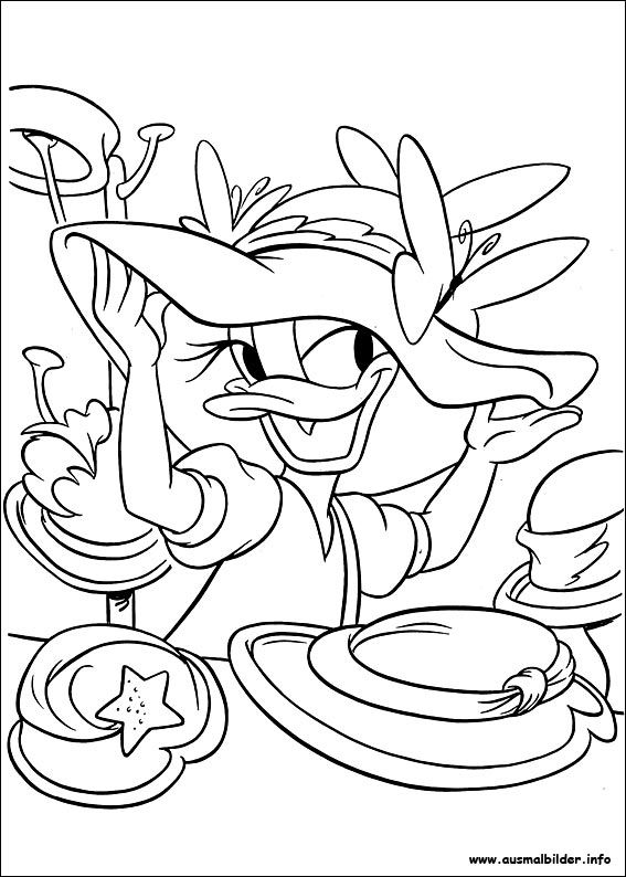 daisy malvorlagen  disney coloring pages coloring pages