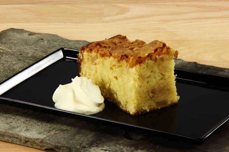 Alletiders Kogebog Kageopskrifter bedstemors bradepandekage med æbler | opskrift i 2019 | kager | cake