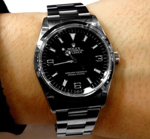 new concept c483d f2b5f Rolex:ロレックス 】エクスプローラー I はビジネスからスポーツ ...