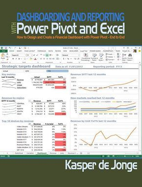 Dashboarding And Reporting With Power Pivot And Excel Pdf E Book
