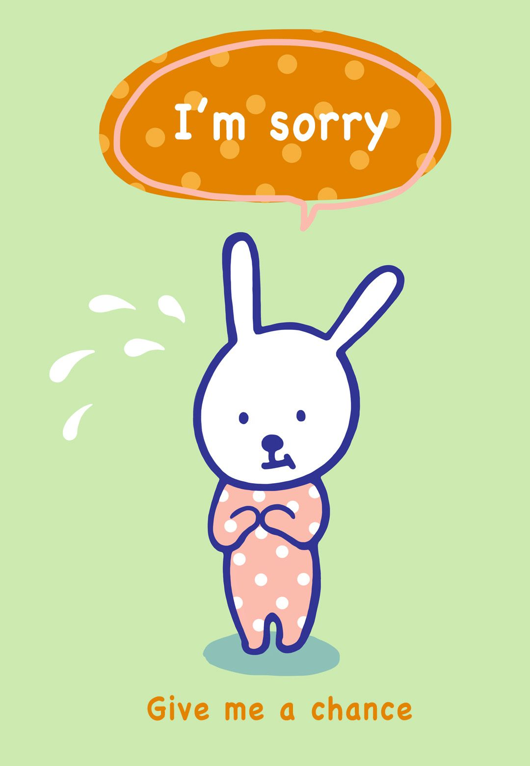 image relating to Printable Sorry Cards named Apology #Card - Say \