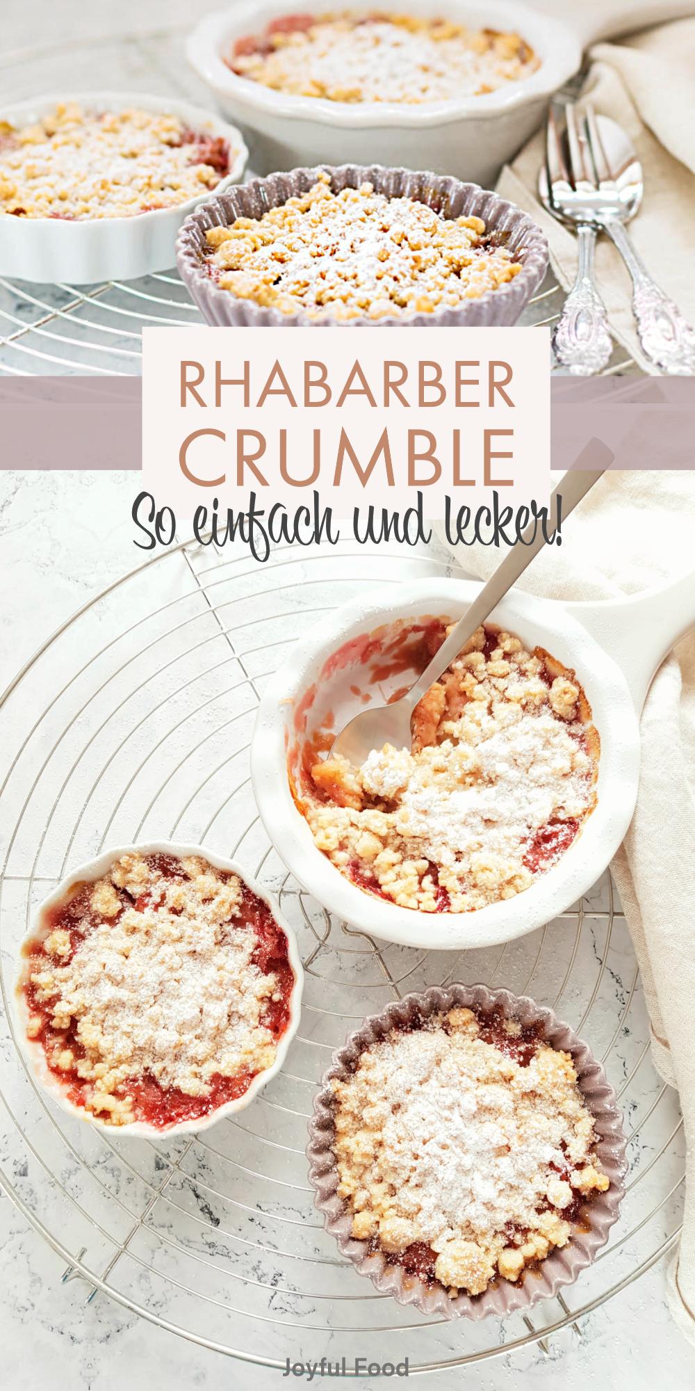 Photo of Rhabarber Crumble: easy-peasy Streusel Rezept | Joyful Food