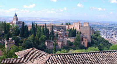 Gartenmalereien: Alhambra/Granada