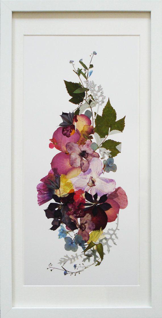 Satz von 3 Drucke Pflanze Kunst botanischen Druck Set Blumenkunst vertikale Kunstwerke Blumen…