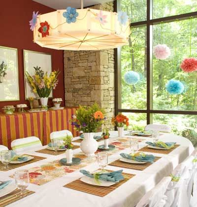 At your next get-together try adding bright bold colors and patterns to the party decor. These easy tips for your tableu2015and a few personal touchesu2015will ... & At your next get-together try adding bright bold colors and ...