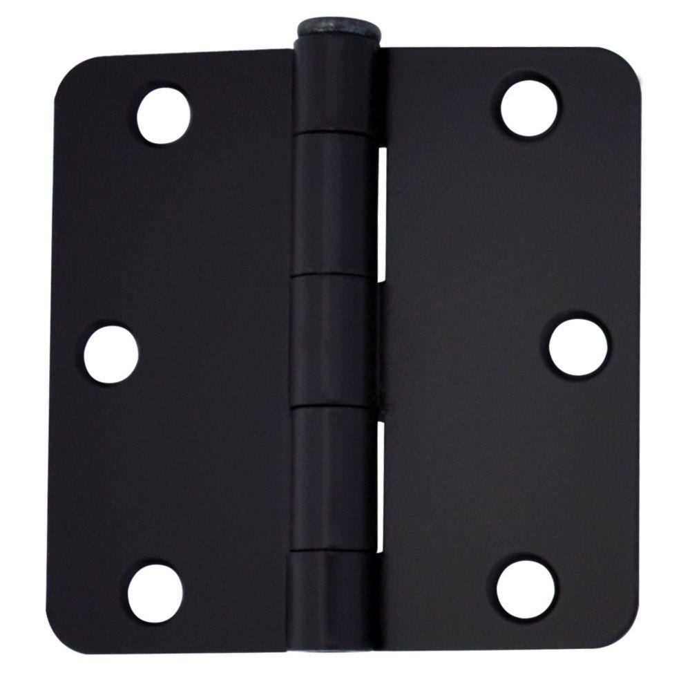 3 Inch Iron Black Door Hinge For 1 3 4 Inch Thick Door 2 Pack In 2020 Black Door Hinges Door Hinges Black Doors