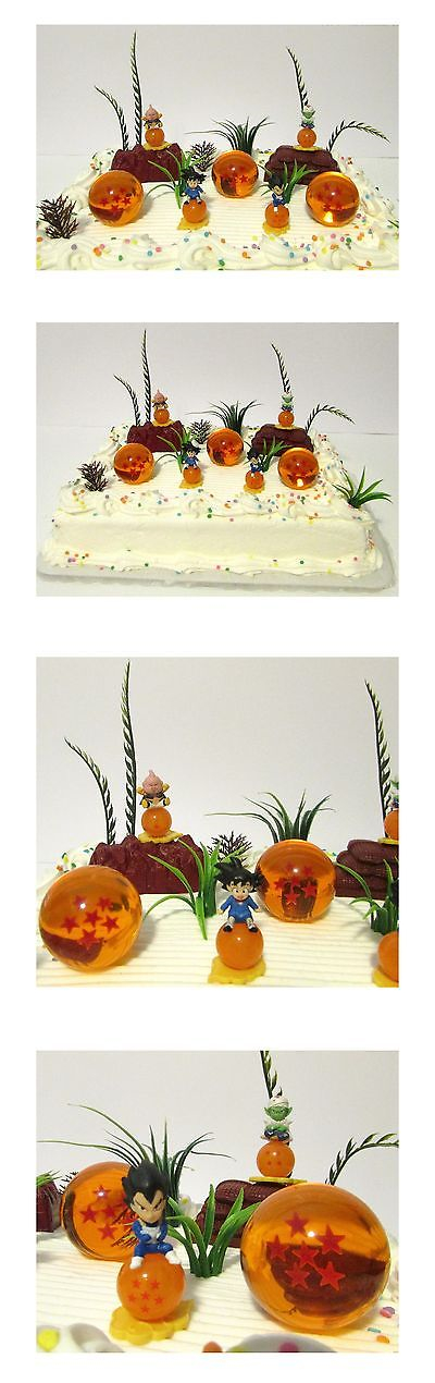 Cake Toppers 170165 Dragon Ball Z Birthday Cake Topper Set