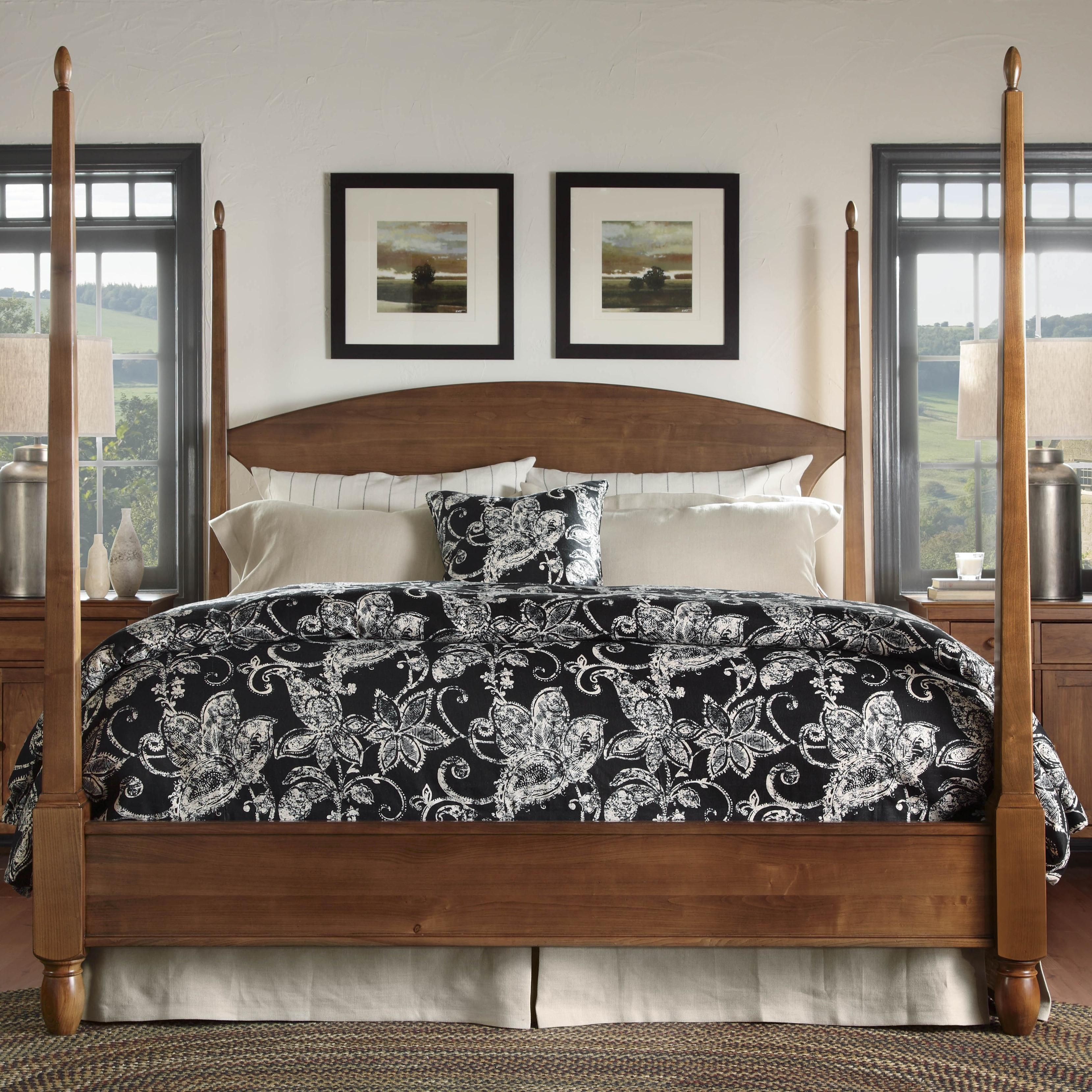 Kincaid Bedroom Furniture Meeting House King Pencil Post Bed By Kincaid Furniture Dream