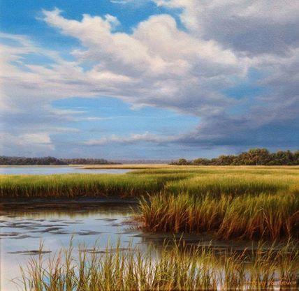 Henry Von Genk Iii Realistic Landscape Paintings Landscape Painting Artists Oil Painting Landscape Landscape Artwork