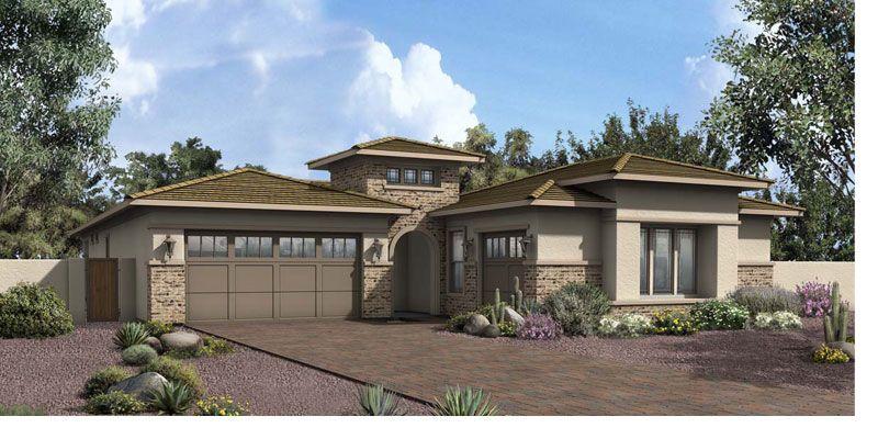 Sage 5531 Elevation C (Desert Prairie) New homes, New