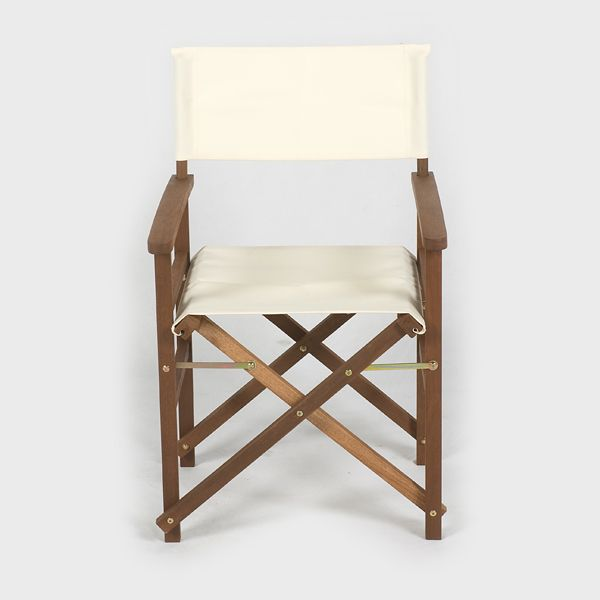 Greenfingers Loreto FSC Directors Chair Cream on Sale | Fast Delivery | Greenfingers.com