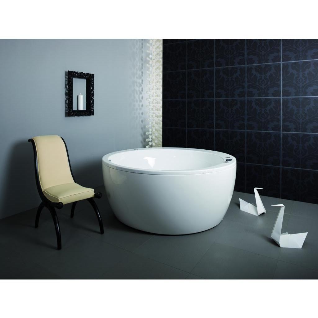 Aquatica Acrylic Bathtub (With Massage Jets and Chromotherapy ...