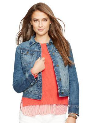 Lauren Jeans Co.  Jean Trucker Jacket