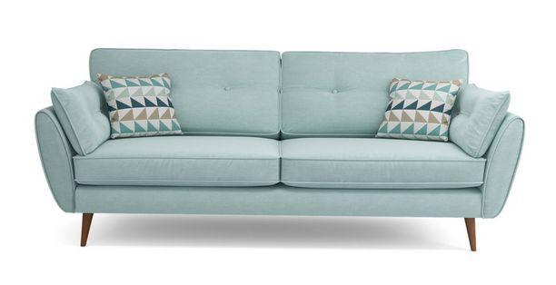Zinc Leather sofa