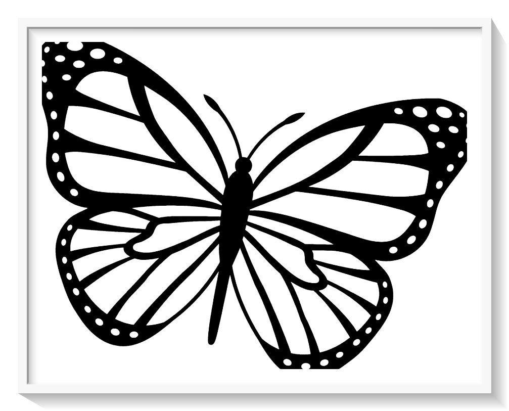 Pin En Mariposas Para Colorear Hermosos Disenos